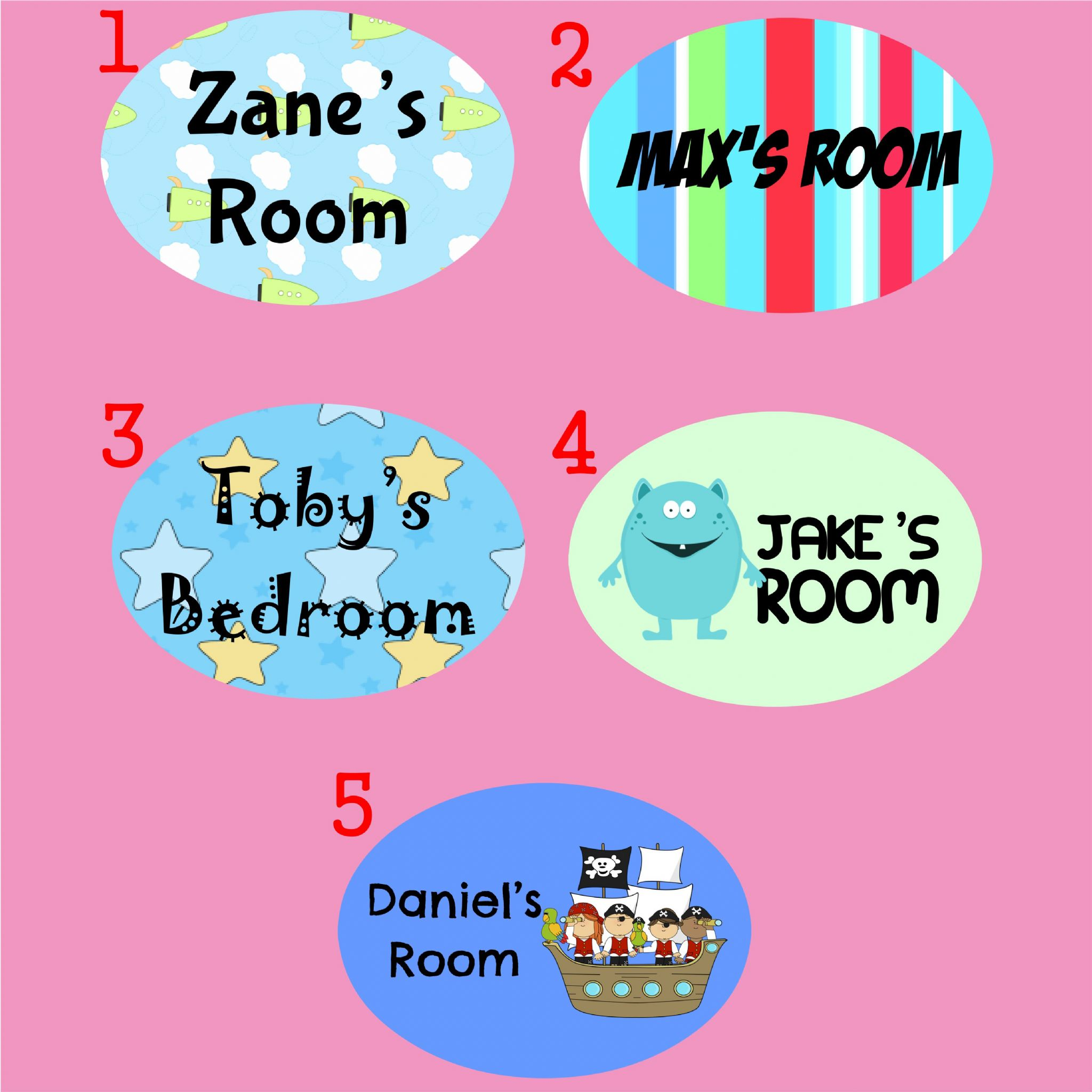 Kids Childrens Childs Bedroom Door Name Plate Plaque Plack Sign  Personalised with your childs names. Kids Childrens Childs Bedroom Door Name Plate Plaque Plack Sign
