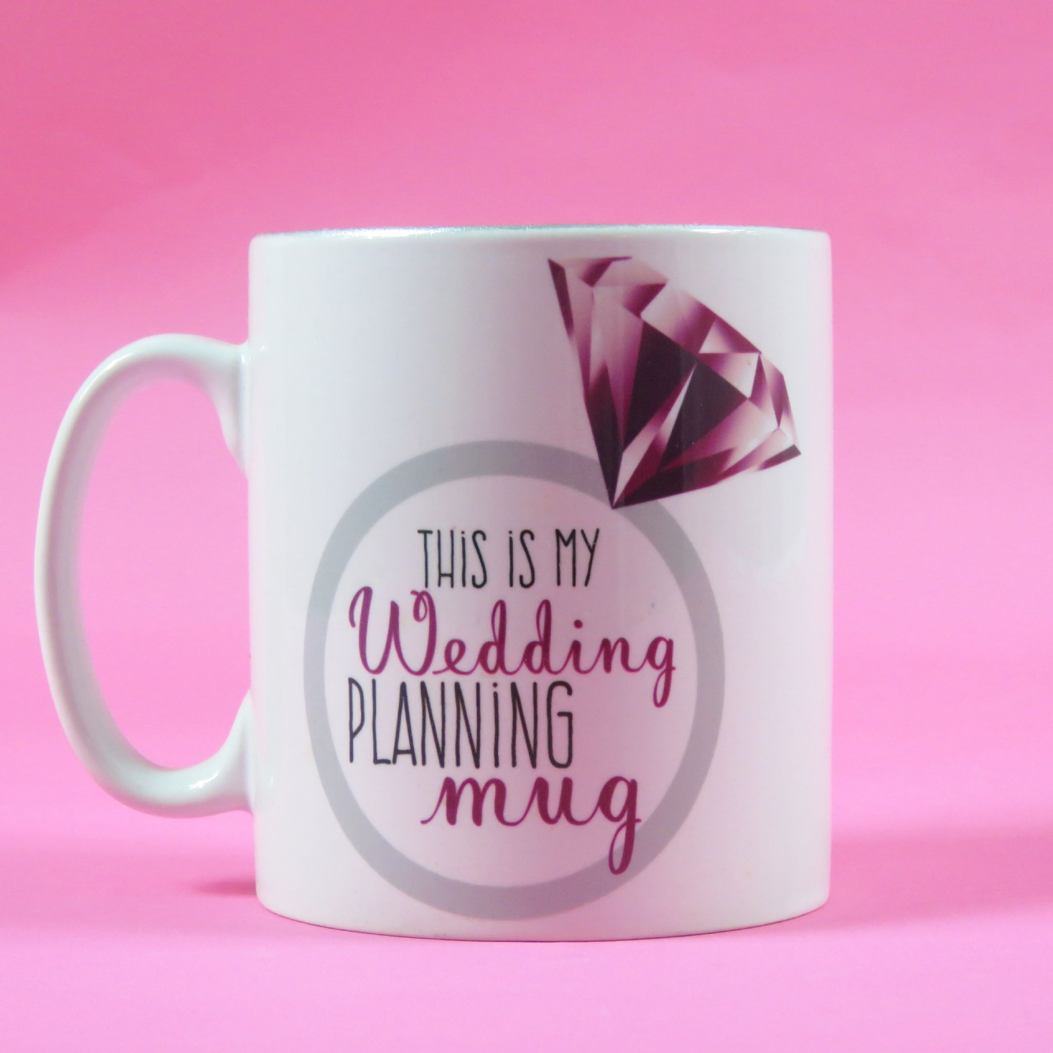 Wedding Planning Mug Planner Bride To Be Gift For The Engagement